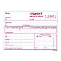 Příjmový pokl.. doklad s DPH A6 číslovaný, samopr. (310)