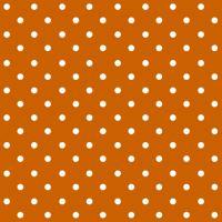 Ubrousky PAW L 33x33cm Dots terracotta