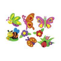 Dekorační pěna motýli mix