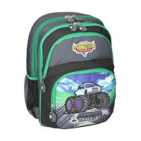 Školní batoh ergonomický, Monster Truck