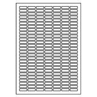 Etikety Print 25,4 x 10, bílé (100 A4 / bal)