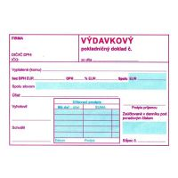 Výdajový pokl.. doklad s DPH A6 (168)