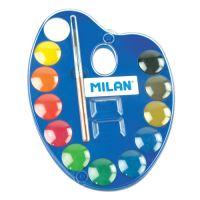 Akvarelové barvy MILAN 12ks + štětec