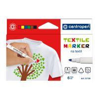 Popisovač CENTROPEN 2739 Textile - sada 6ks