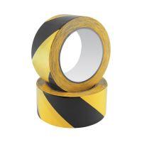 Bezpečnostní páska Safety Tape 48 mm x 20 m, černo / žlutá