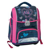 Školská taška Logic Play, love