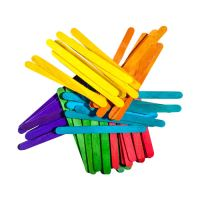 Dekoračné paličky 100 ks mix farieb