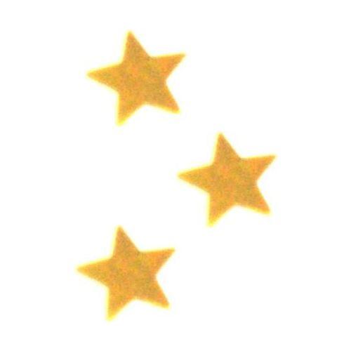 Konfety lesklé hvězdy zlaté 15g