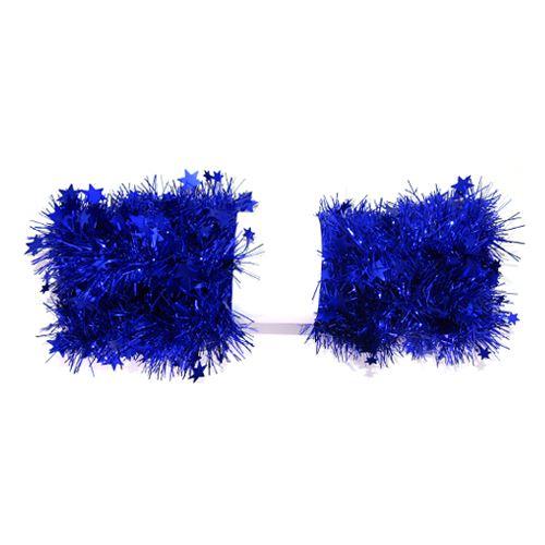 Vánoční girlanda 6 x 2 m - modrá