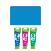 Akrylová barva JUNIOR 120 ml modrá 360