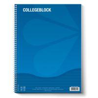 Blok A5 College s boční spirálou linkový 80 L
