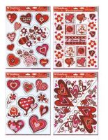 Adhézní nálepka  Valentín STVGr-1001 ABCD