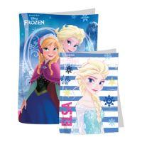 Obal na zošity A4 lepiaci Frozen mix