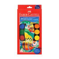 Vodové farby Faber-Castell 21 farebné