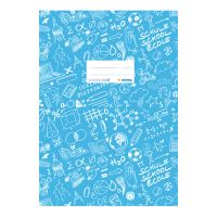 Obal na sešit Schooldoo A4 modrý / 1ks
