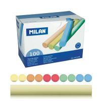 Křída MILAN kulatá barevná 100 ks