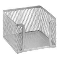 Drátěný stojan na špalík, stříbrný