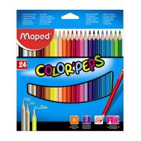 """Pastelky MAPED """"COLOR'PEPS"""" 24 ks"""