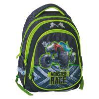Školský batoh Maxx Play, monster race