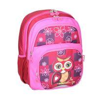 Školní batoh ergonomický, Owl Red