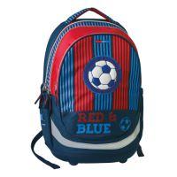 Školský batoh Seven Sazio, red&blue football