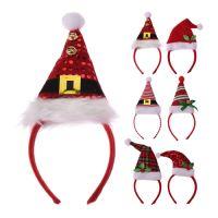 Čelenka - Vánoční čepice 26 cm, mix / 1ks