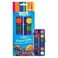 Barvy vodové Foska 28 mm 12 barev