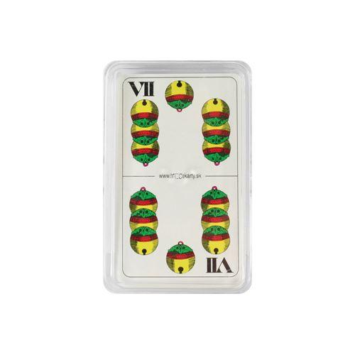 Karty hrací - Sedmové v plastovém boxu