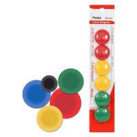 Magnetky - barevné, 30 mm / 6 ks