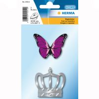 Nažehlovačka motýl a korunka