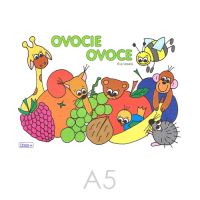 Omalovánka A5 Litera - Ovoce