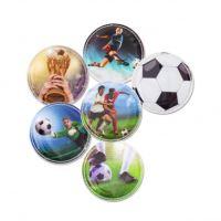 Klipy Ergobag - 5 ks set, Futbalisti