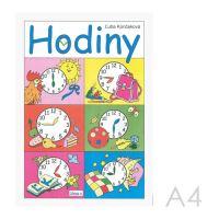 Omalovánka A4 Litera - Hodiny
