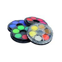 Barvy vodové okrouhlé 24 barev