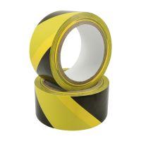 Lepicí páska výstražná žluto-černá 50 mm x 22 m