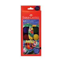 Vodové barvy Faber-Castell 12 barevné