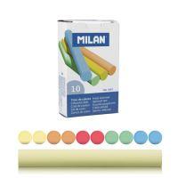 Křída MILAN kulatá barevná 10ks bezprašná