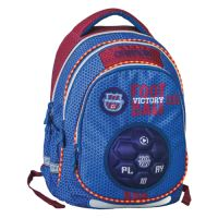 Školní batoh Maxx Play, Blue Football