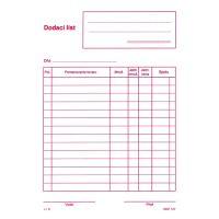Dodací list bez DPH A5, samoprepis (151)