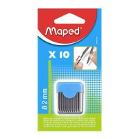 Tuha do kružítka MAPED 2 mm, 10 ks