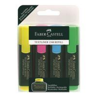 Zvýrazňovač Faber-Castell Textliner 1548/4 set
