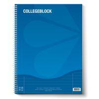 Blok A4 College s boční spirálou linkový 80 L