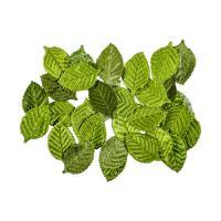 Dekorační listy zelené 30 ks