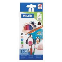 Pastelky MILAN trojhranné 12 ks