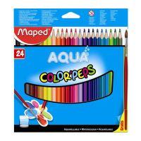 """Pastelky MAPED """"Color Peps"""" akvarelové se štětcem, 24 ks"""