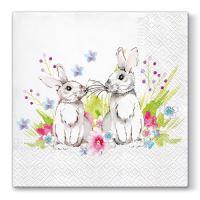 Obrousky PAW L 33X33cm Bunnies in Love