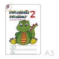 Omaľovánka A5 Dinosaury 2