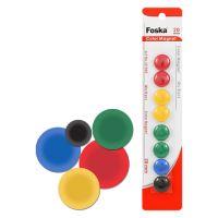 Magnetky - barevné, 20 mm / 8 ks