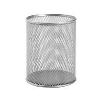 Drátěný pohár na pera, stříbrný
