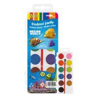 Barvy vodové TY-10112,12 barevné 21mm